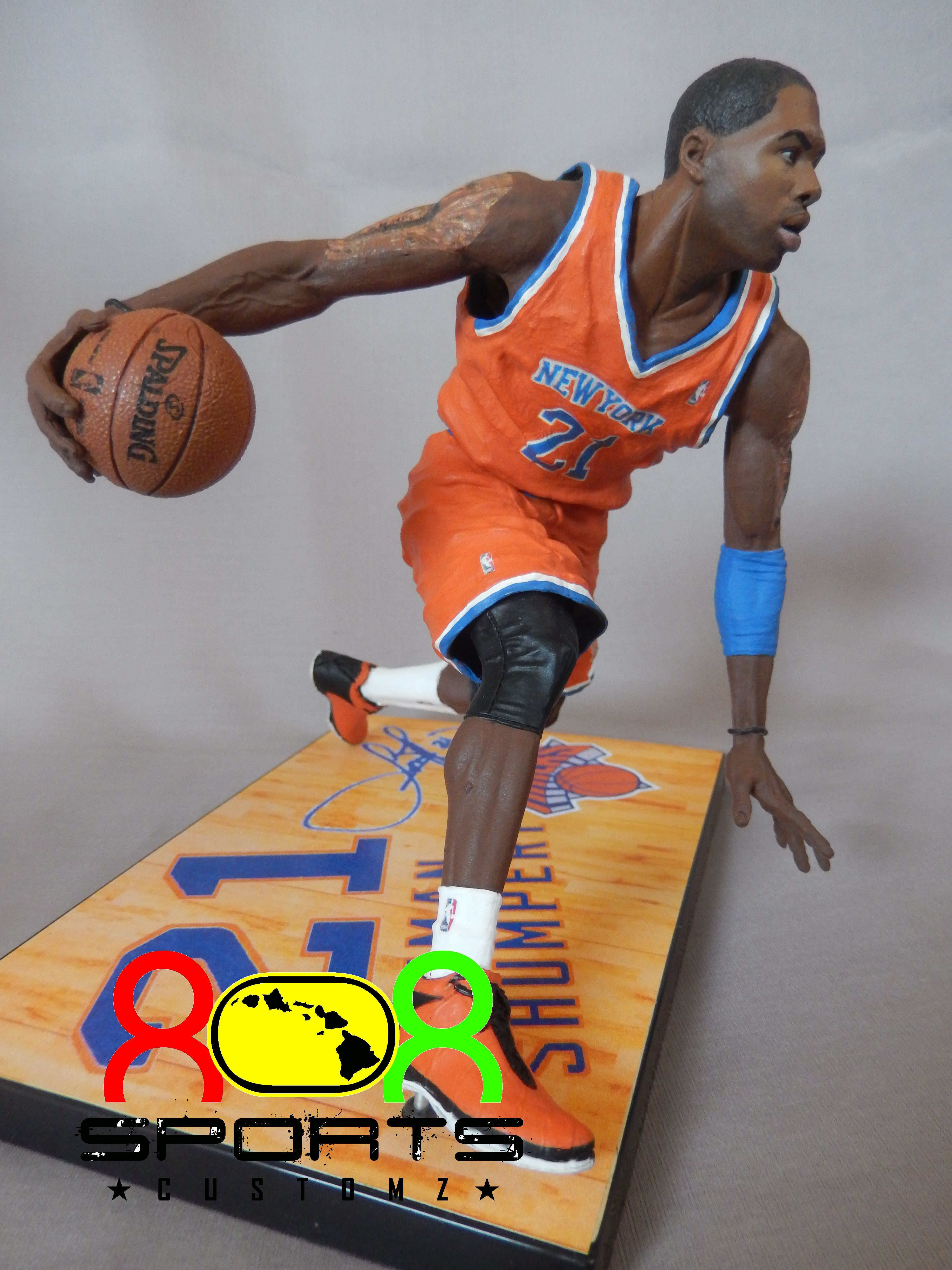 da4b7025ca41 Iman Shumpert - 808 Sports Customz