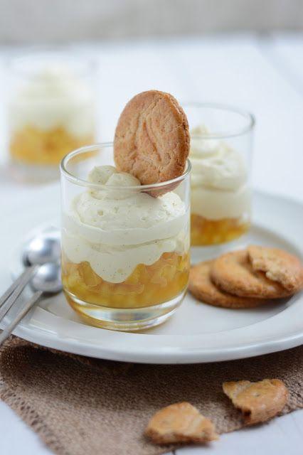 Chic, chic, chocolat...: Crème légère et pommes au caramel. Que faire avec un reste de crème pâtissière