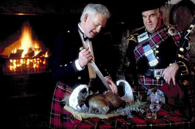 Burns Night is January 25th celebrating Scotland's famous poet Robert Burns. There is much merrymaking and a delicious traditional Burns Supper.