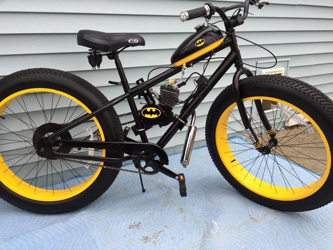 Batman 5 Horsepower 40 Mph On Ebay Enter Fat Tire Bike