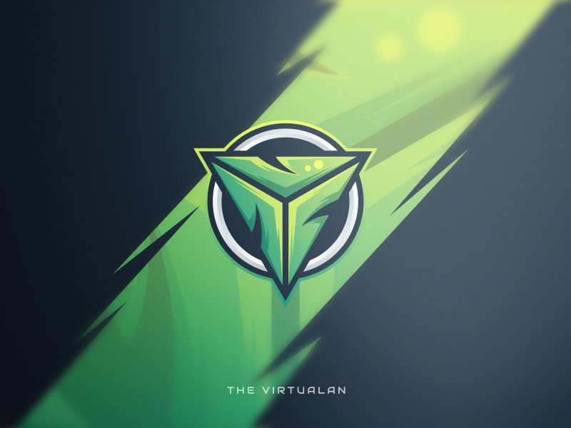 V For Gaming Center Sports Logo Inspiration Game Logo Design Logo Design Creative