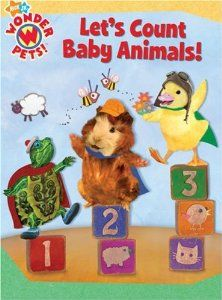 Let S Count Baby Animals Wonder Pets By Jennifer Oxley 4 49 Series Wonder Pets Publisher Simon Spotlight Nick Wonder Pets Animal Books Baby Animals