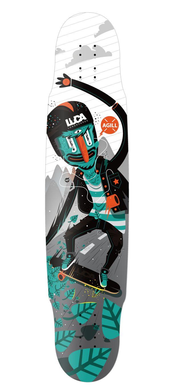Luca Longboards Poland + Newfren by New Fren