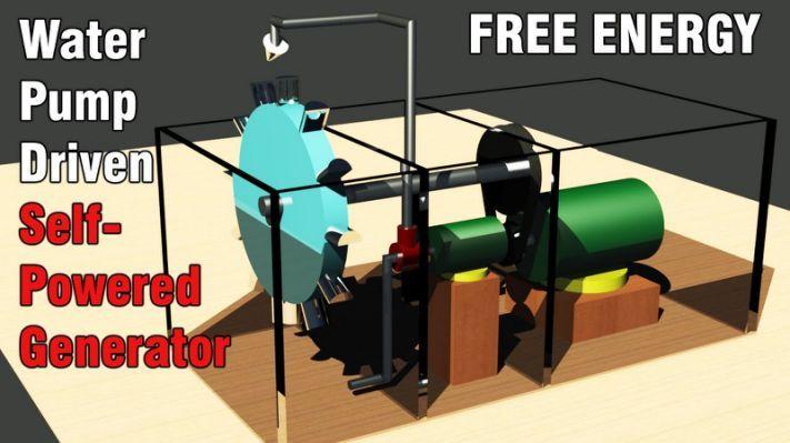 Free Energy Electric Power Generator Alternatif enerji