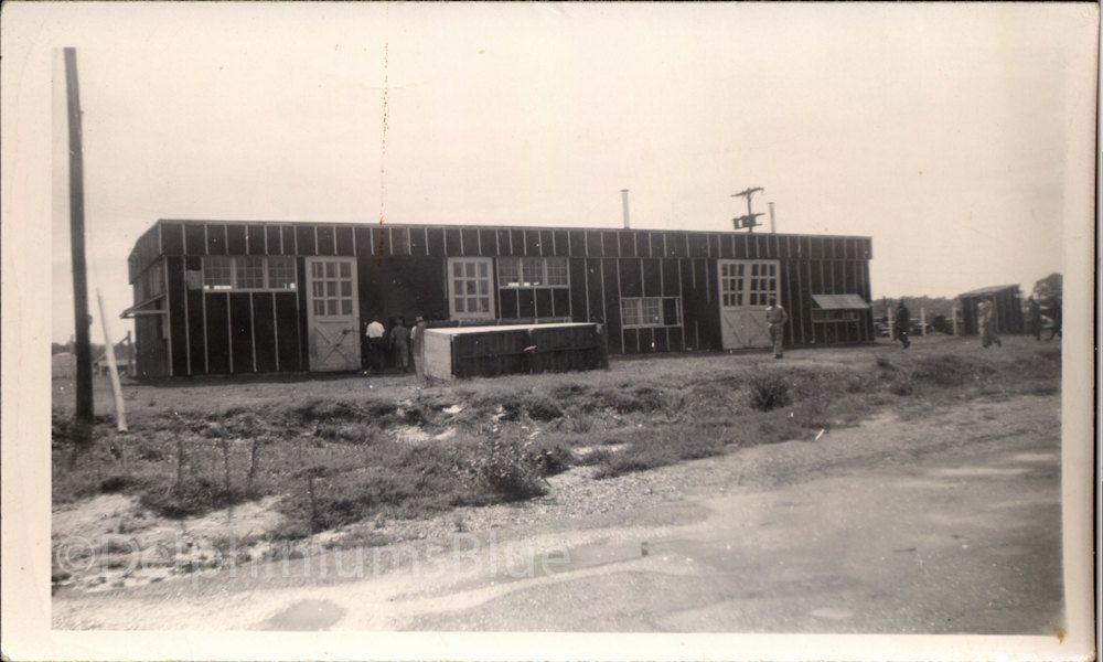 Vintage // Black & White // Photo // WW2 Army Barracks 1057 by foundphotogallery on Etsy