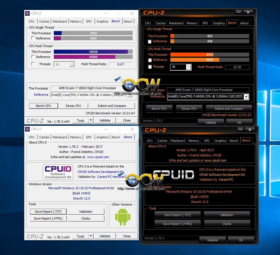 AMD Ryzen 1800X benchmarks lowered in new version of CPU-Z – #OCWorkbench – Computex Taipei 2017 Reviews, Benchmarks AMD Ryzen 5 1600 1600X 1800x 1700x Gigabyte Ransomware
