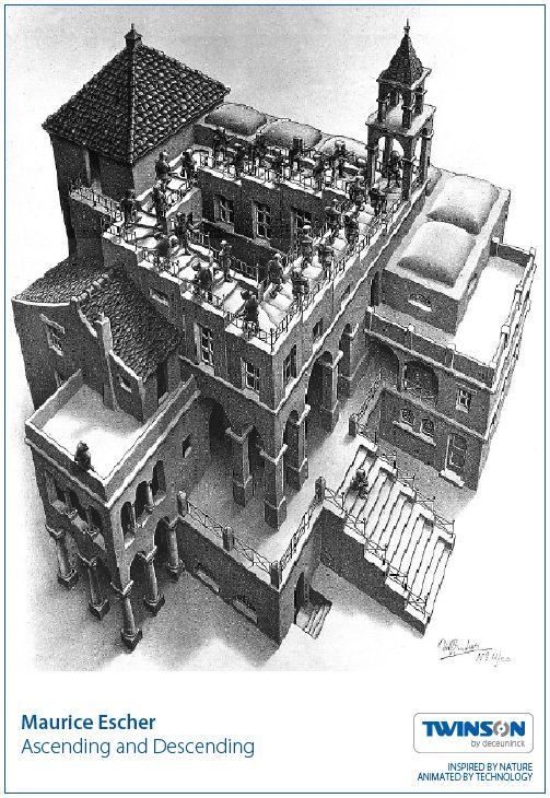 Maurice Escher - Ascending and Descending