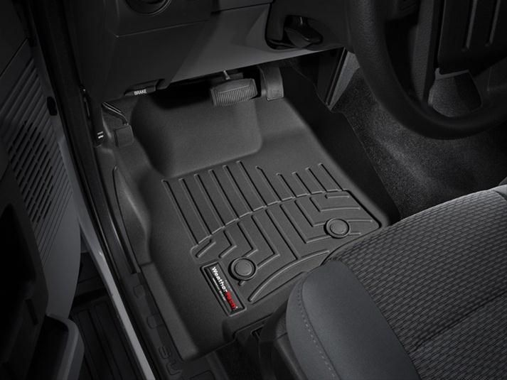 WeatherTech 2014-2017 Jeep Cherokee Front FloorLiner Mats - Black (No Bump  In Front of Dead Pedal) | Cherokee, Bump and Jeeps