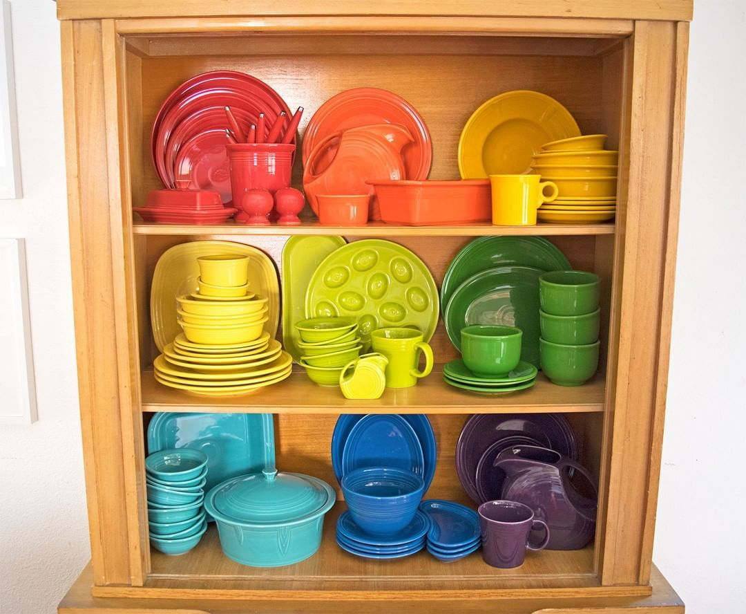 Fiesta Dinnerware On Instagram When Dishes Double As Decor