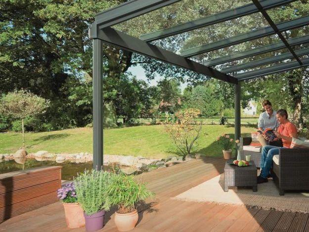 Weinor Terrazza Glass Roof Extension Projekty Na