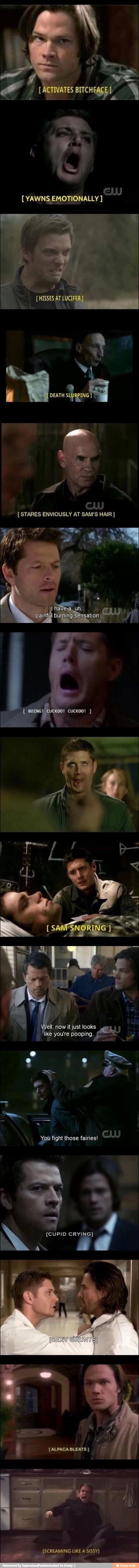 They forgot *Dean randomly dies in shower*