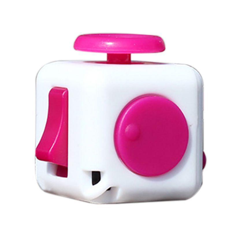 9 색 Fidget 큐브 안티 과민성 장난감 매직 Cobe 재미 크리스마스 선물 원래 Fidget 큐브 데스크 장난감