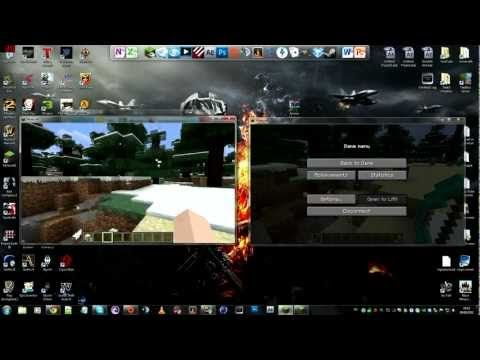 Minecraft How To Play Any Singleplayer Mod LAN With Your Friends - Minecraft lan spielen mit mods