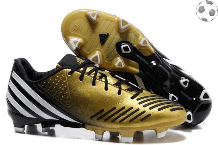 Chaussures foot adidas predator lz TRX FG Kaka Or Noir FT832