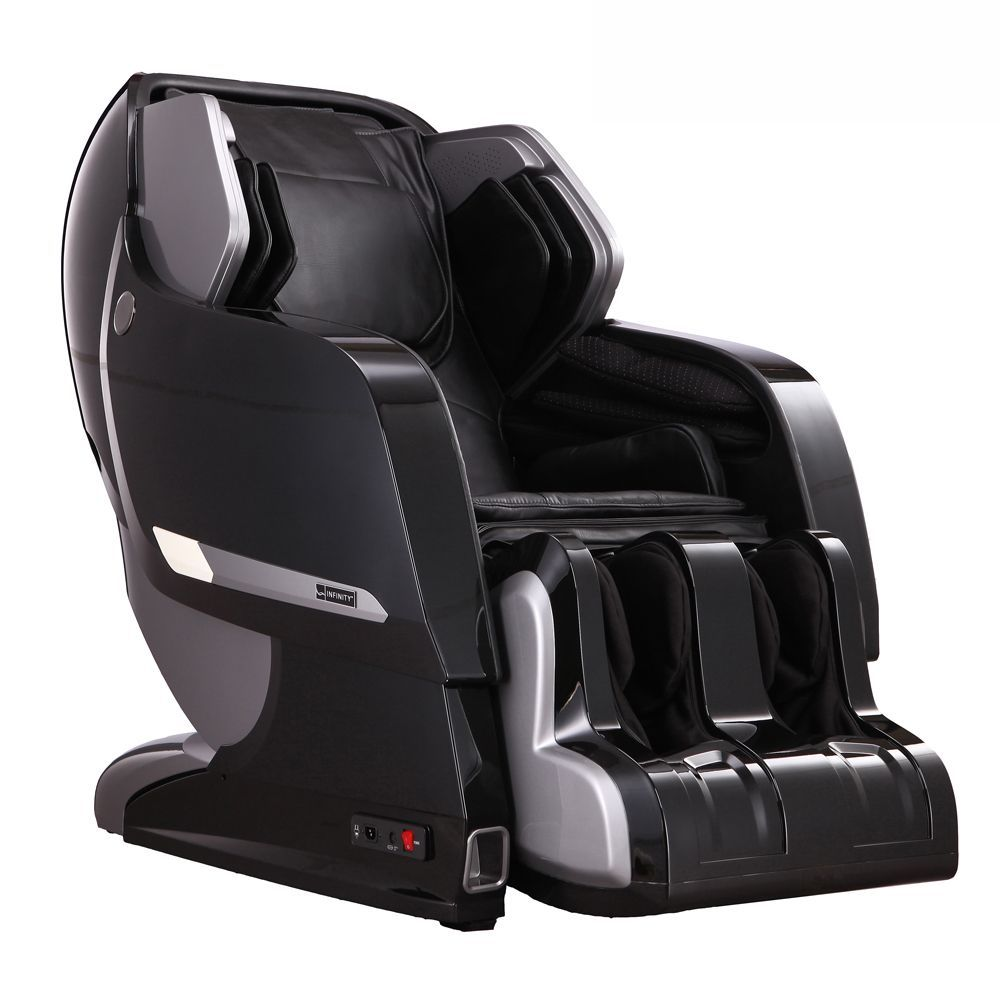 infinity iyashi massage chair (white on berry (pink) red