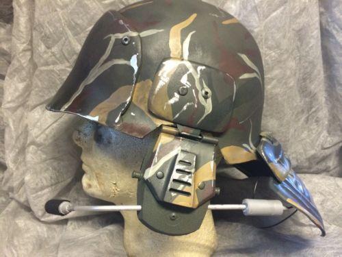 Aliens Uscm Colonial Marine Helmet Replica Prop Costume   eBay & ALIENS USCM Colonial Marine Helmet Replica Prop Costume   Dystopia ...