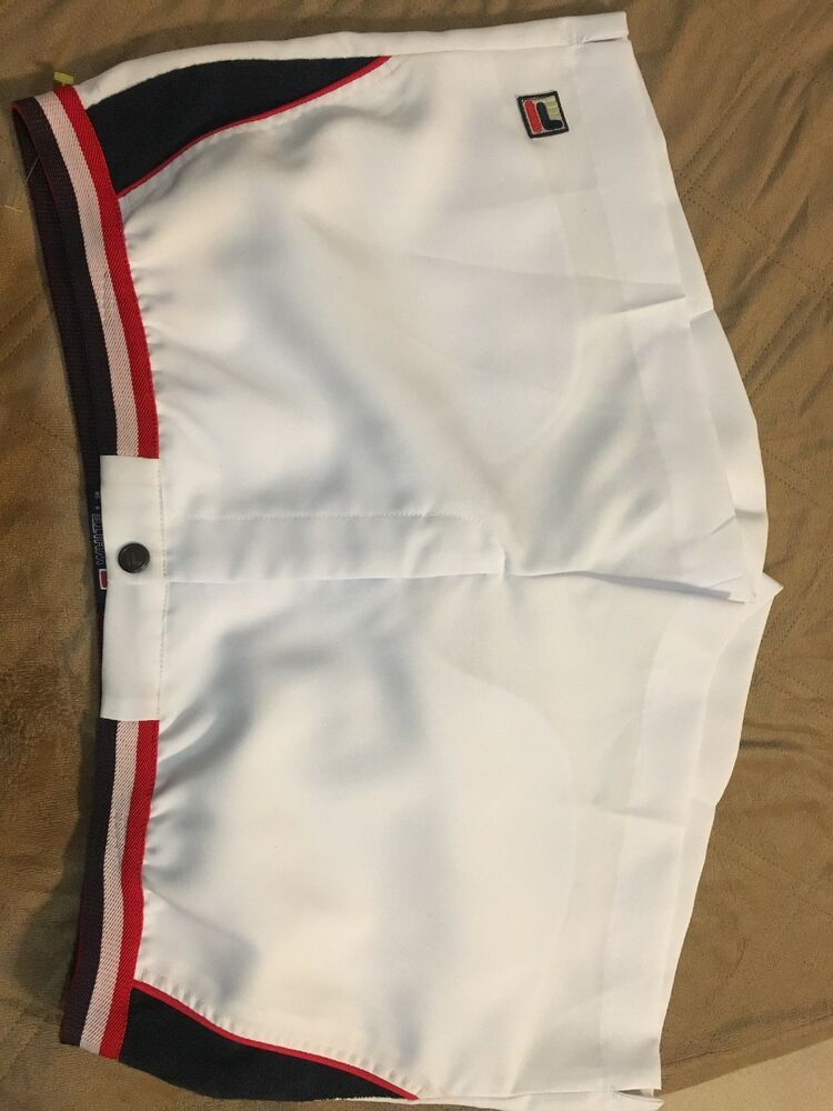 e4a1525f NWT FILA White Line Tennis Shorts. XL Red Navy White #fashion ...