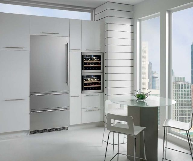 kühlschrank kaufen liebherr schick elegant modern design | Küche ...