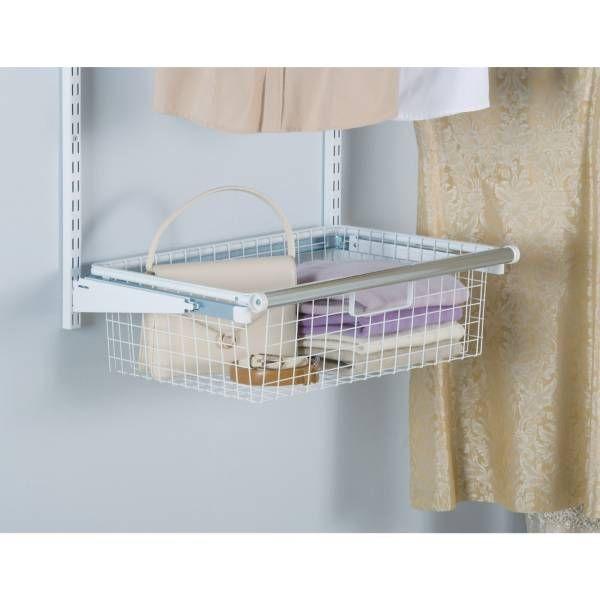 Product Image for Rubbermaid® Sliding Storage Basket for Closet ...