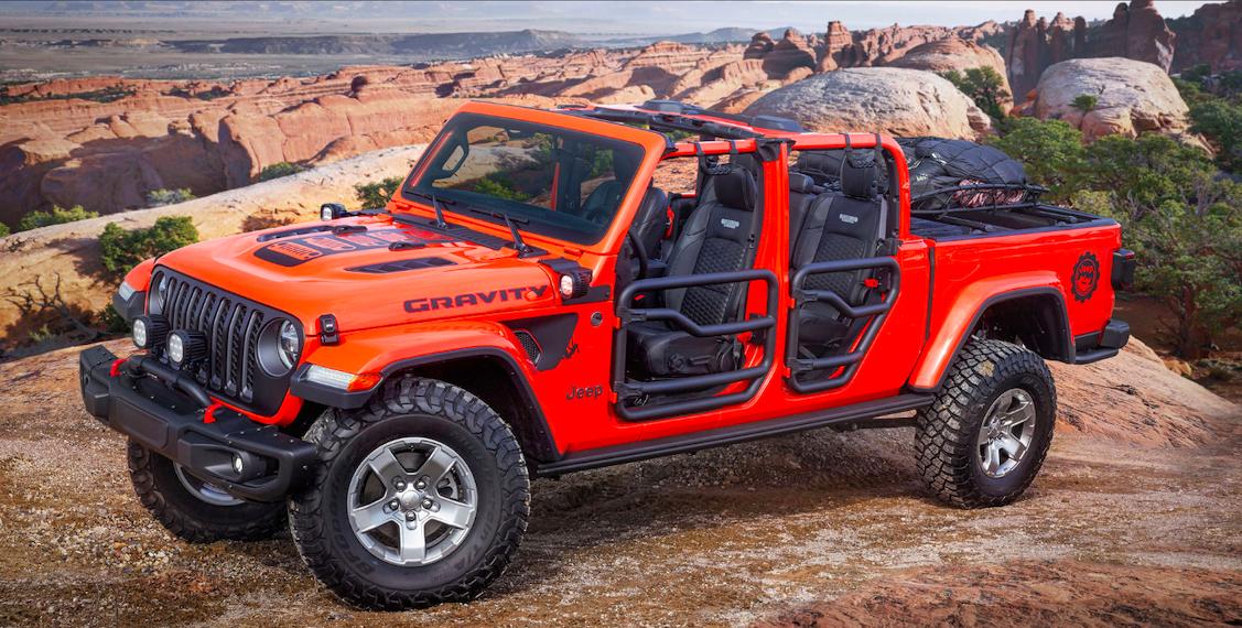 Gravity Jeep Gladiator Easter Jeep Safari Gladiator