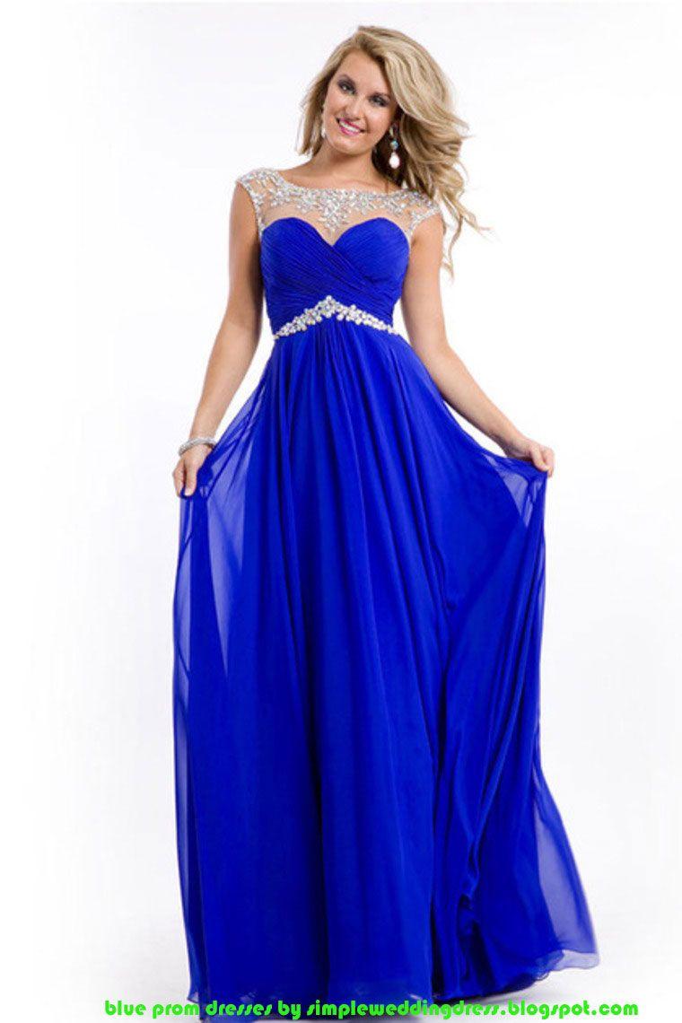 Buy Blue Prom Dresses In Low Price 85 Off See On Simpleweddingdress