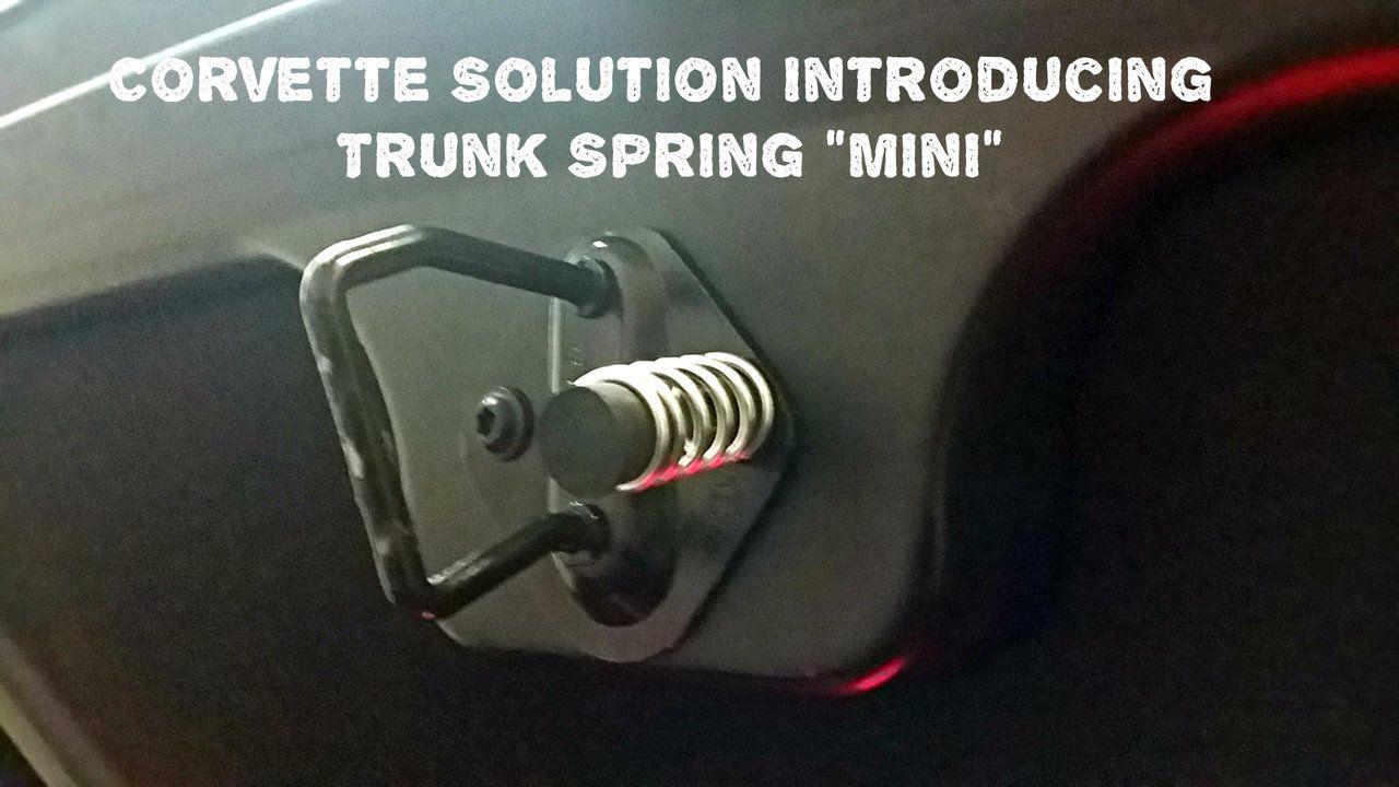 C6 C5 Corvette The All New Mini Trunk Spring Assist Corvette Accessories Store Accessories Online Store