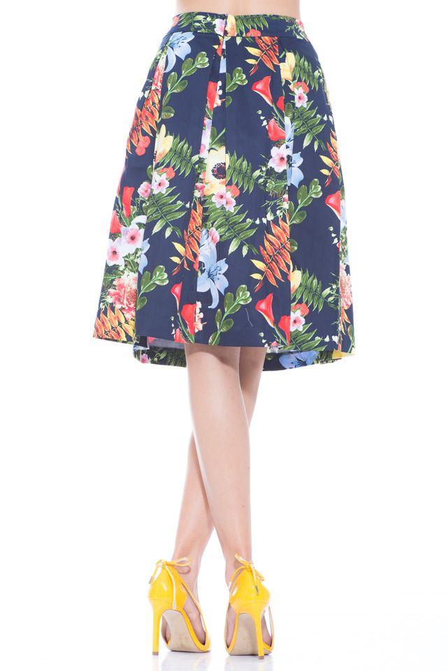 5278cb4f3 Falda Euforia | faldas | Faldas, Faldas en linea a y Faldas estampadas