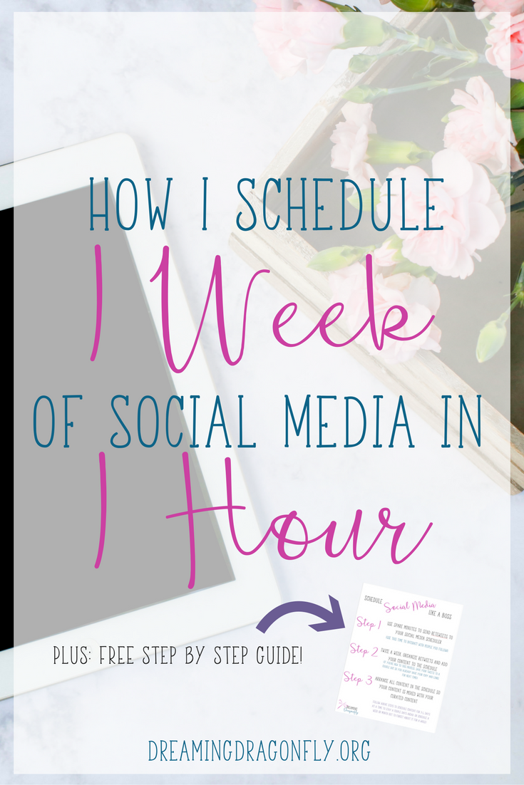 How I Schedule a Week of Social Media in an Hour — Delana Simmons
