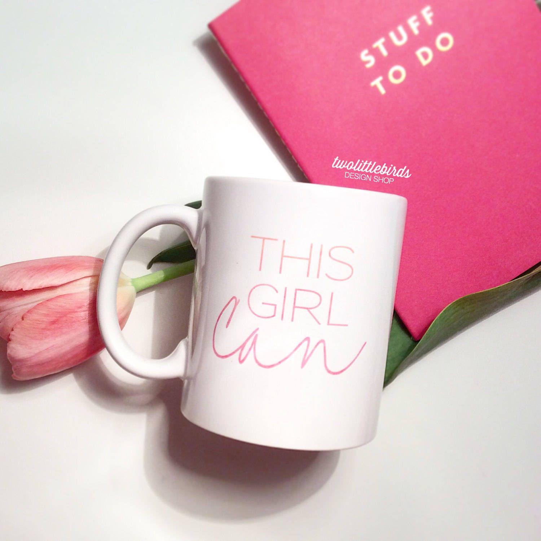 This Girl Can Mug - Coffee Mug - Tea Cup