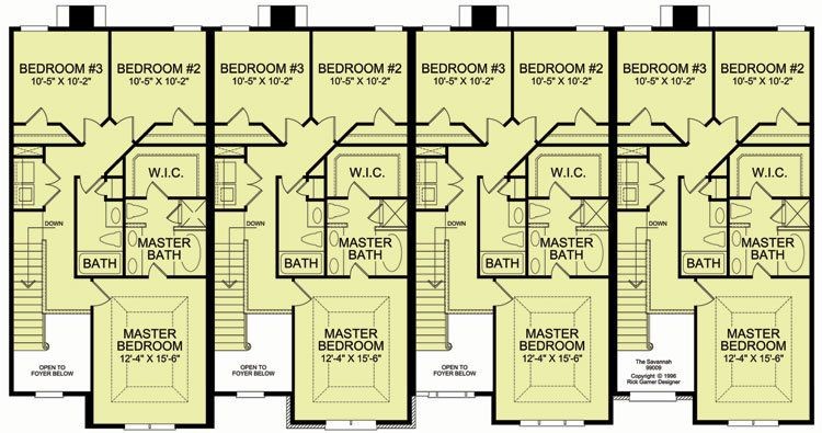 4 plex 3 2nd floor