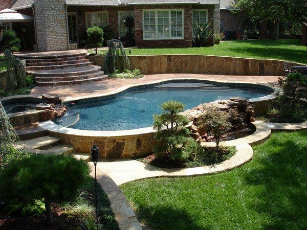 Above Ground Pools With Decks Garden Design Ideas Retaining Wall