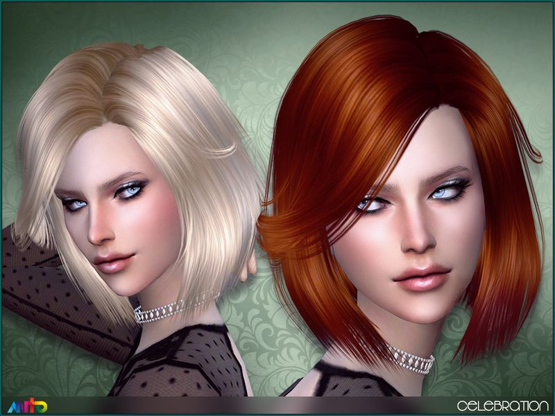 The Sims Resource Celebration Hair By Anto Sims 4 Hairs Womens Hairstyles Sims Hair Hair Styles