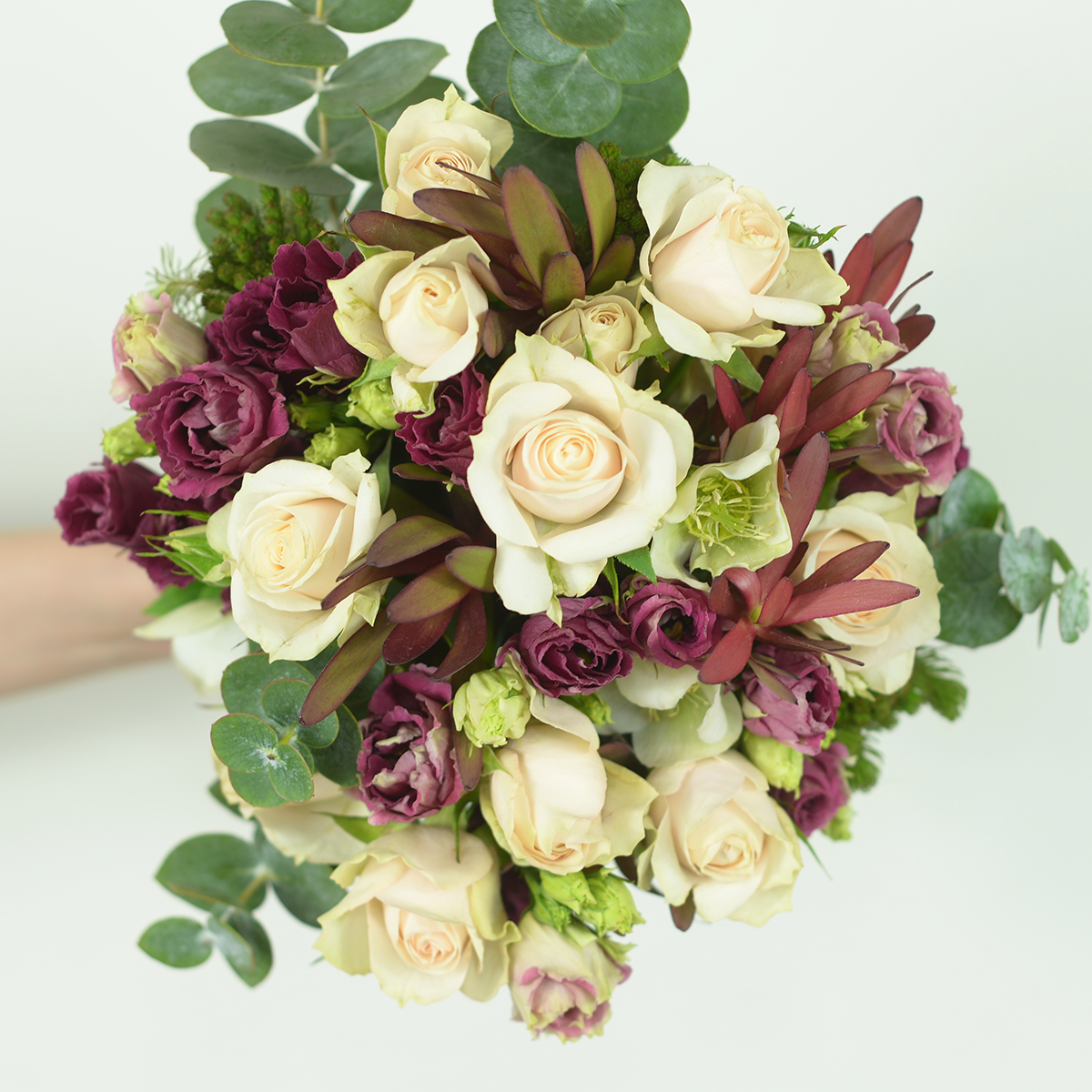Subscription handtied with full of seasonal flowers and