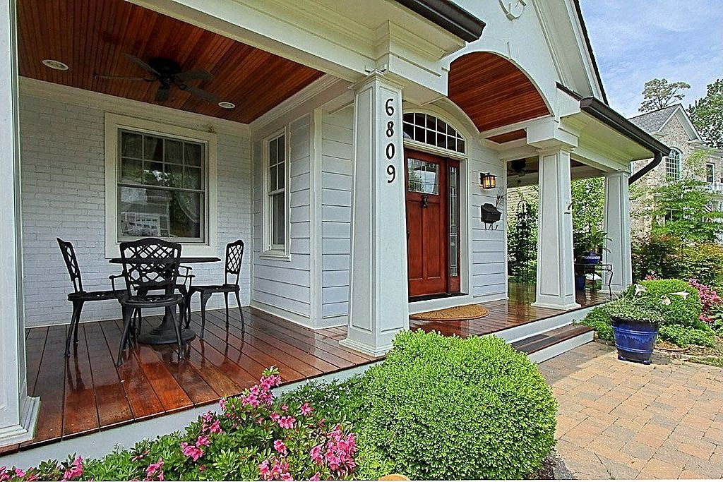 Ideas Bump Out Enclose Some Of Existing Porch Then Extend Porch