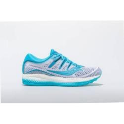 Photo of Saucony Damen Laufschuhe Triumph Iso 5, Größe 39 In White / Blue, Größe 39 In White / Blue Saucony