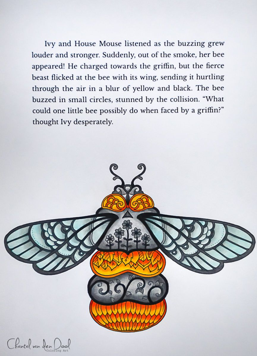 Johanna Basford Ivy And The Inky Butterfly