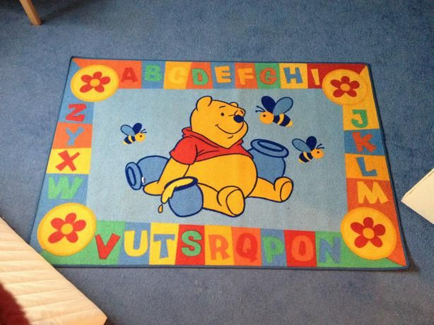 Colourful Winnie The Pooh Rug