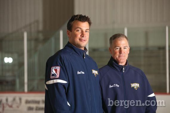 Coaches J.J. Picinic and Dan May. (Photo by Greg Pallante)