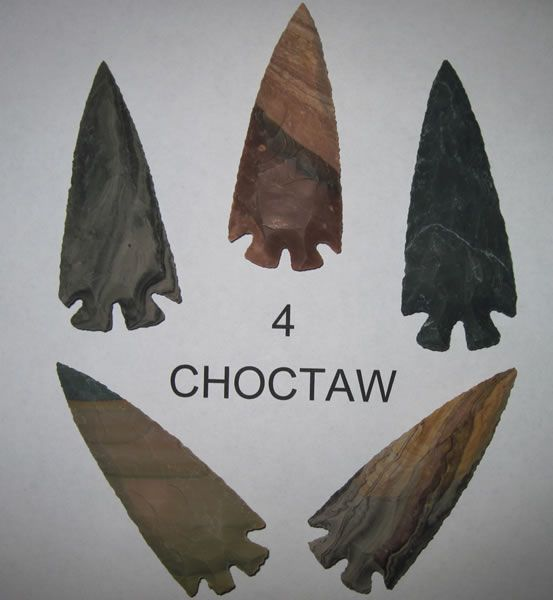 Choctaw Indian, Native American Artifacts
