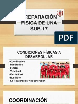 Preparación Física De Una Sub 17 Ejercicios Sesiones De Entrenamiento Entrenamiento De Fuerza