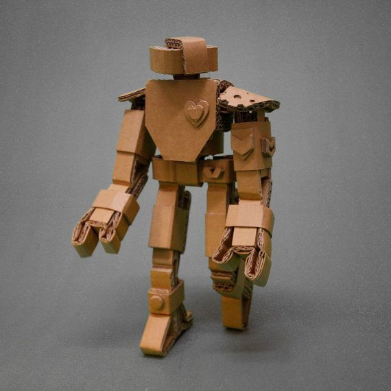 how to make a cardboard robot for kids