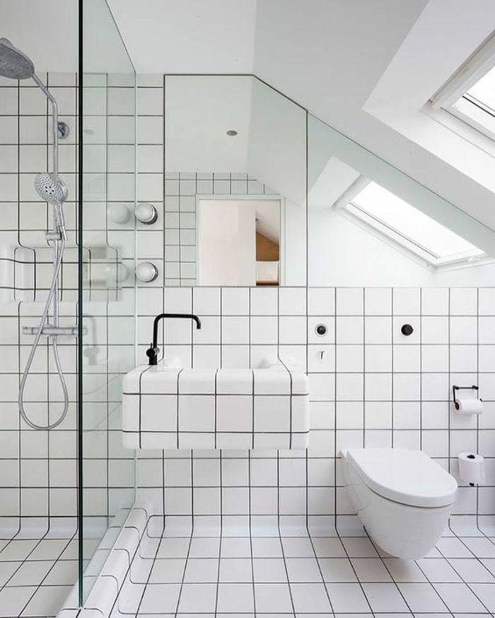 1001 Idees Pour Une Salle De Bain Avec Verriere Cloisons Douches Idee Salle De Bain Cloison Douche Salle De Bains Loft