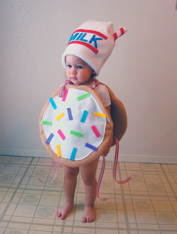Baby Costume Toddler Costume Cookie Halloween Costume Sugar Cookie with Sprinkles. $60.00, via Etsy.