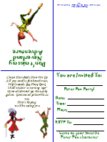 Free printable peter pan invitationsea parties neverland free printable peter pan invitationsea filmwisefo