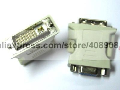 10 Pcs 24 5 Male Dvi D Dual Link To Female Vga Connector With Images Vga Connector Dvi Vga