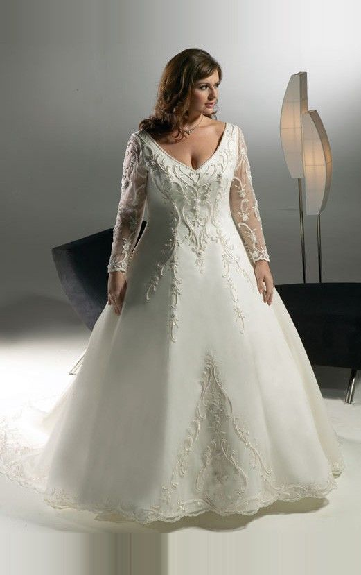 plus size wedding dresses - Google Search | wedding dresses usa ...