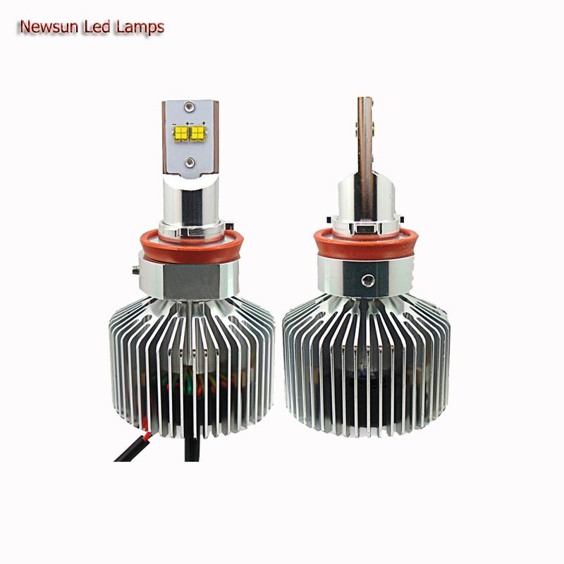 3000k 4000k 5000k 6000k Super Bright H11 Led Car Headlight Bulb Halogen Light Replacement Kits 12v 90w A Led Headlights Cars Car Headlights Car Headlight Bulbs