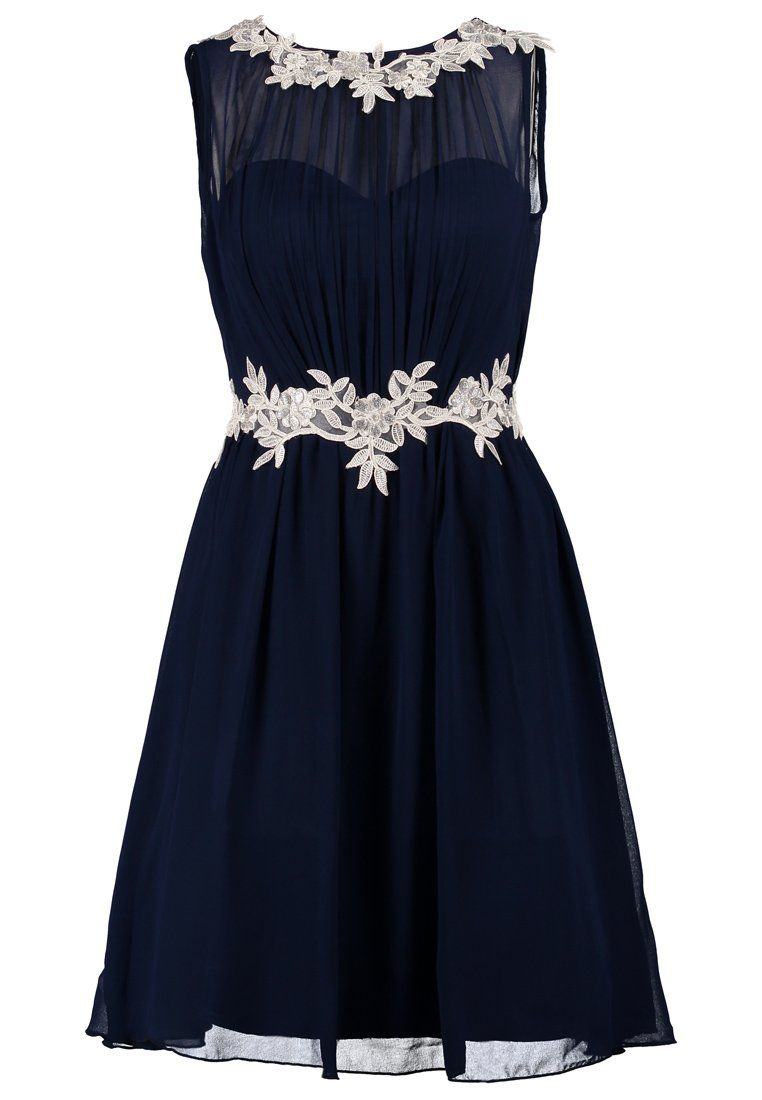 little mistress cocktailkleid / festliches kleid - navy