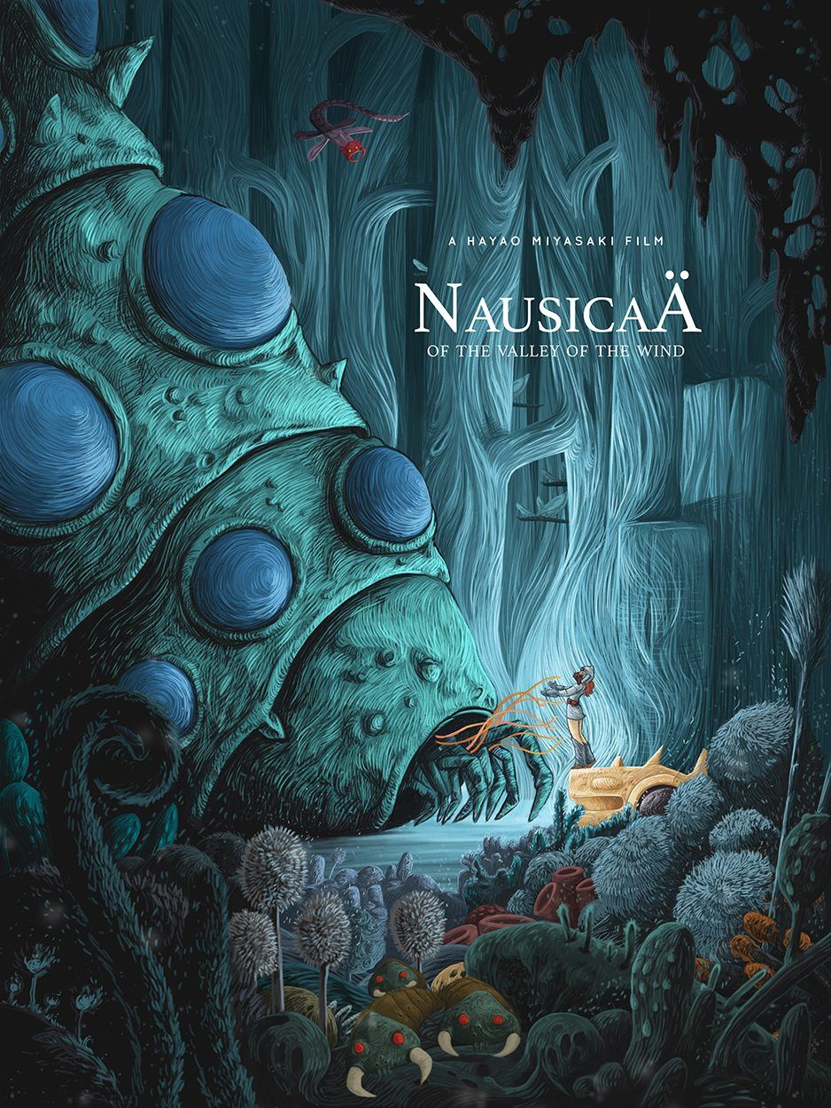 Nausicaa Of The Valley Of The Wind 1984 Hd Wallpaper From