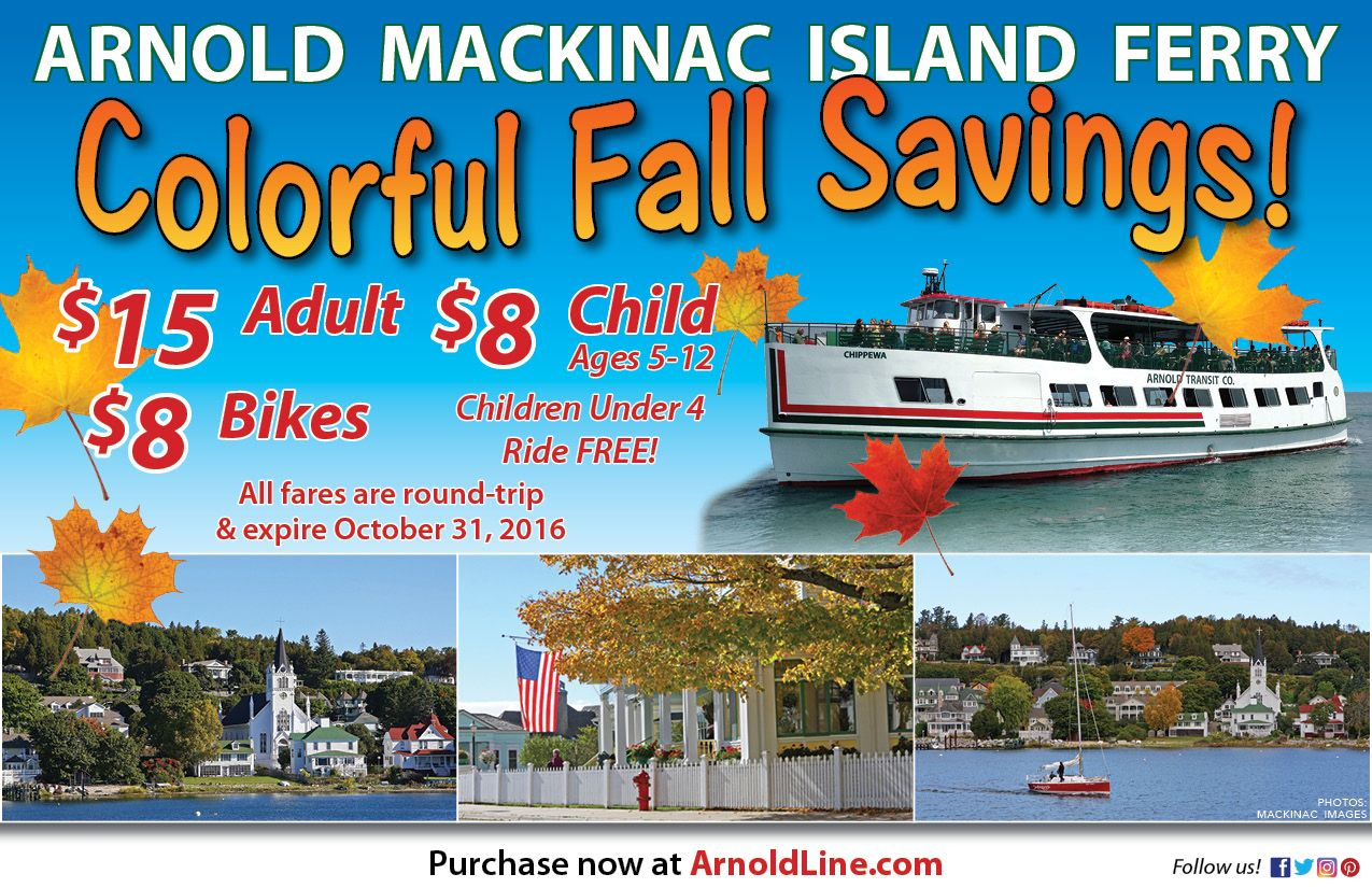 Lowest Mackinac Island Ferry Prices Less Time In The Lot More Time On The Lake Mackinacisle Michigan M Mackinac Island Ferry Mackinac Island Mackinaw City